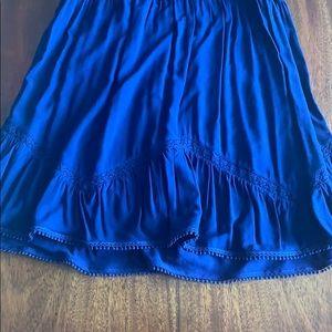 Express Dresses - Express navy blue sundress